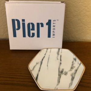Pier One imports marble ring dish
